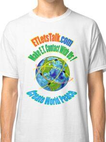 CREATE WORLD PEACE Classic T-Shirt