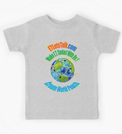 CREATE WORLD PEACE Kids Tee