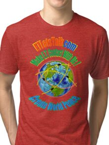 CREATE WORLD PEACE Tri-blend T-Shirt