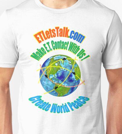 CREATE WORLD PEACE Unisex T-Shirt