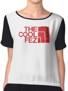 The Cool Fez Chiffon Top
