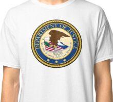 DEPT OF JUSTICE Classic T-Shirt