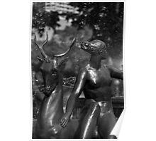 Statue Detail Hyde Park, Sydney Poster