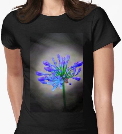 Nature Creates Beauty Womens Fitted T-Shirt
