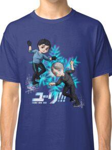 Yuri!!! On ice chibis Classic T-Shirt
