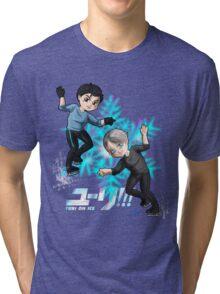 Yuri!!! On ice chibis Tri-blend T-Shirt