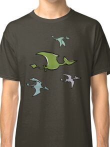 a flock of pterosaurs Classic T-Shirt