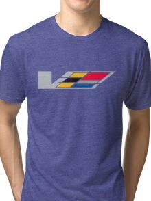 Cadillac - Retro Tri-blend T-Shirt