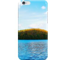 October At The Lake iPhone Case/Skin