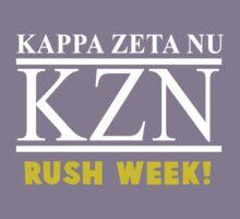 Workaholics - Kappa Zeta Nu RUSH WEEK! Stan Halen Shirt Kids Clothes