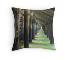 Under the Wharf Throw Pillow