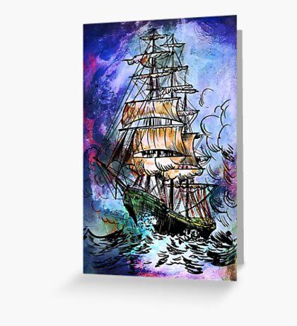 Sailing 5 Greeting Card
