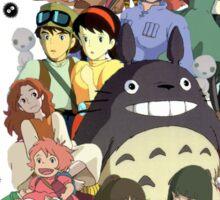 Studio Ghibli fixed Sticker