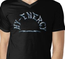 Hy Energy Chrome Finish Mens V-Neck T-Shirt