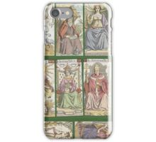 """cover of book with tarot cards (""""Tarot of the Master"""") iPhone Case/Skin"""
