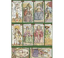 """cover of book with tarot cards (""""Tarot of the Master"""") Photographic Print"""