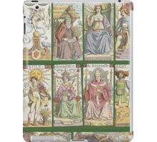 "cover of book with tarot cards (""Tarot of the Master"") iPad Case/Skin"