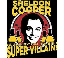 The Big Bang Theory Sheldon Cooper Photographic Print