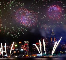 New Years Spark by KKooPhotography