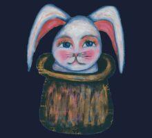 rabbit in the hat Kids Tee