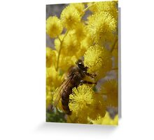 High on Pollen Greeting Card
