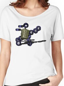 Earthworm Jim - Trash Can Women's Relaxed Fit T-Shirt