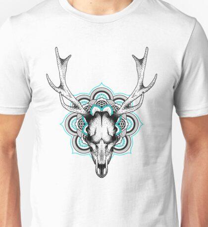 Mandala deer Unisex T-Shirt