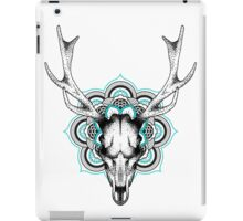Mandala deer iPad Case/Skin