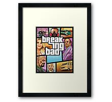 Breaking Bad GTA Framed Print