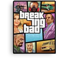 Breaking Bad GTA Canvas Print