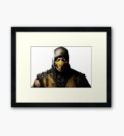 Mortal Kombat X - Scorpion Framed Print