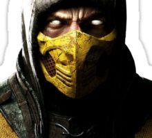 Mortal Kombat X - Scorpion Sticker