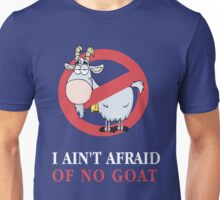 Chicago Bill Murray I Ain't afraid of no goat  Unisex T-Shirt