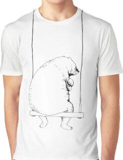 Sadly Big Baby (white) Graphic T-Shirt