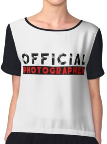 official photographer Chiffon Top