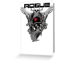 ROGUE FORCE Greeting Card