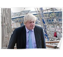 Mayor Boris Johnson marks Totally Thames with visit to TS Tenacious Poster