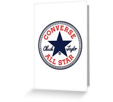 CONVERSE Greeting Card