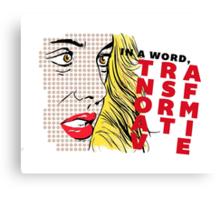 Erica Reyes — Transformative (Pop Art) Canvas Print