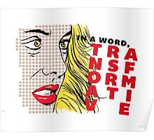 Erica Reyes — Transformative (Pop Art) Poster