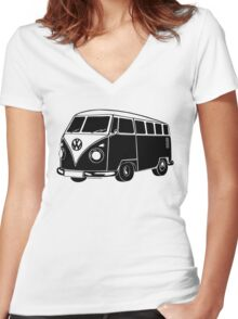 Combi Women's Fitted V-Neck T-Shirt
