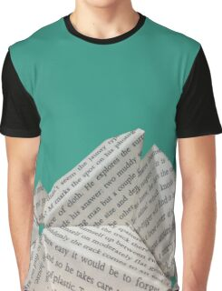 Mountain of Books Graphic T-Shirt