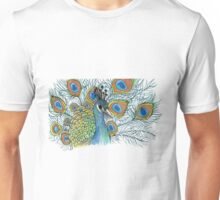 The Peacock Unisex T-Shirt