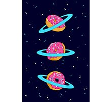 Sugar rings of Saturn Photographic Print