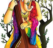 Ganesha : Veena vadak by ramanandr