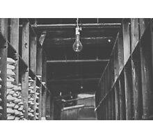Factory Bulb Photographic Print