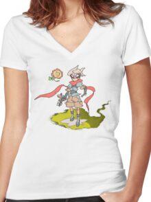 Boktai Django Women's Fitted V-Neck T-Shirt