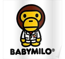 Baby Milo A BATHING APE Poster