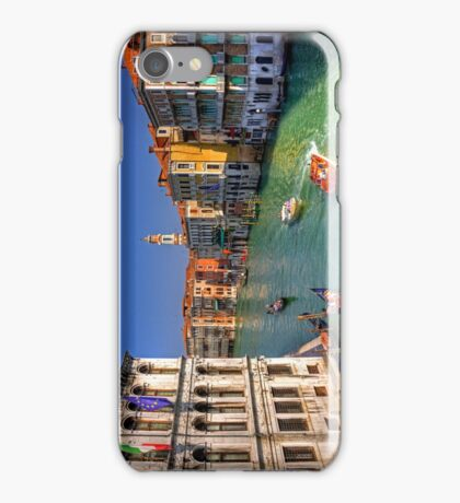Light Traffic on the Grand Canal iPhone Case/Skin