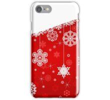 Winter background iPhone Case/Skin
